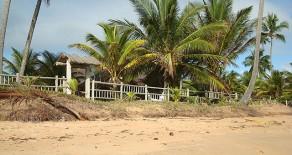 cav015 – Maison à Plage de Bombaça, Péninsule de Maraú, Bahia. Brésil