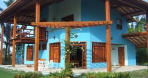 cal025 – Casa na Praia da Bombaça, Península de Maraú, Bahia, Brasil